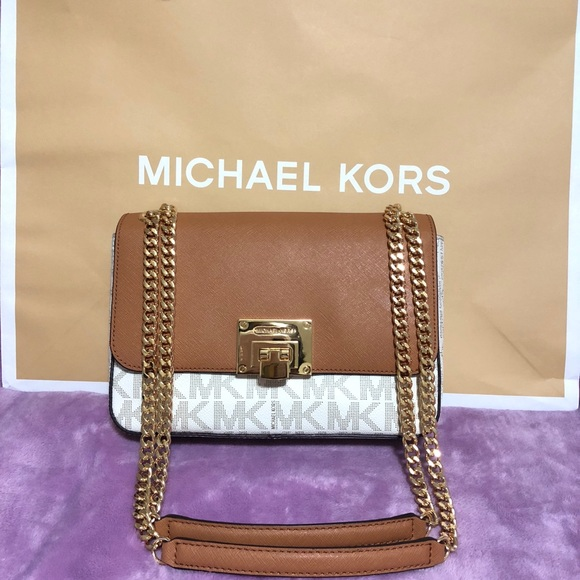 ef8664c51a63 Michael Kors Bags | Tina Medium Shoulder Flap Crossbody | Poshmark