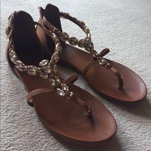 Jessica Simpson Shoes - Jessica Simpson Jewelled Sandals