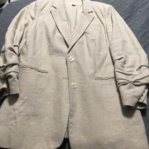 Michael Kors khaki linen blazer