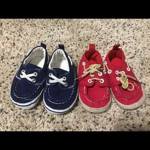 Other - Red &Blue Crib shoes