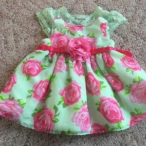 NWOT Newborn dress and lace sweater