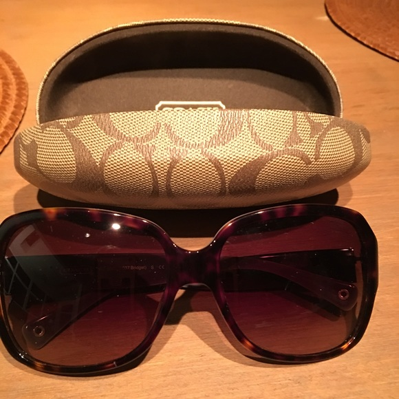 d47b1d68fa8d Coach Accessories | Authentic Sunglasses Hc 8043 L037 Bridget | Poshmark