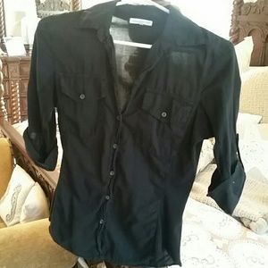 James Perse button down top