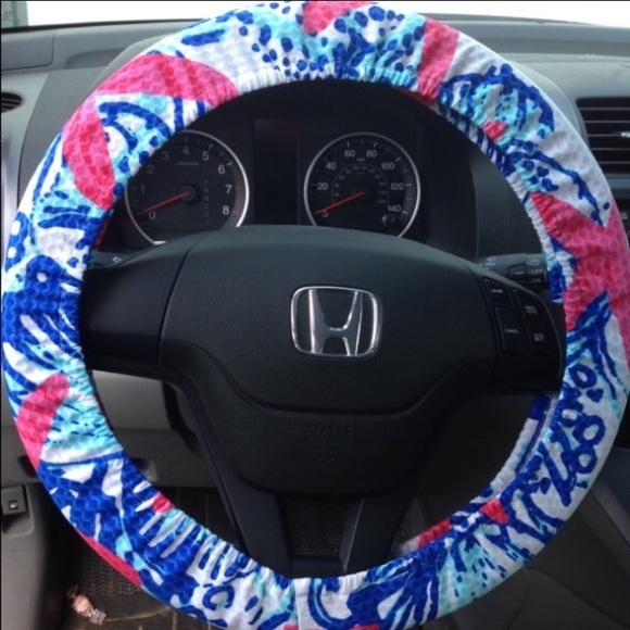 Astounding Lilly Pulitzer Steeringwheel Cover She She Shells Alphanode Cool Chair Designs And Ideas Alphanodeonline