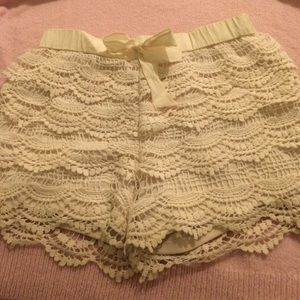 Tilly's Full Tilt Soft Crochet Shorts