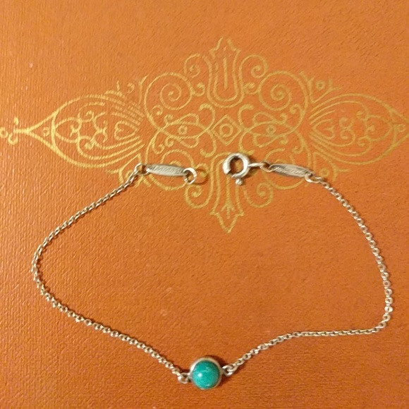 Elsa Peretti Color by the Yard pendant in silver with orange chalcedony Tiffany & Co. nzW2O