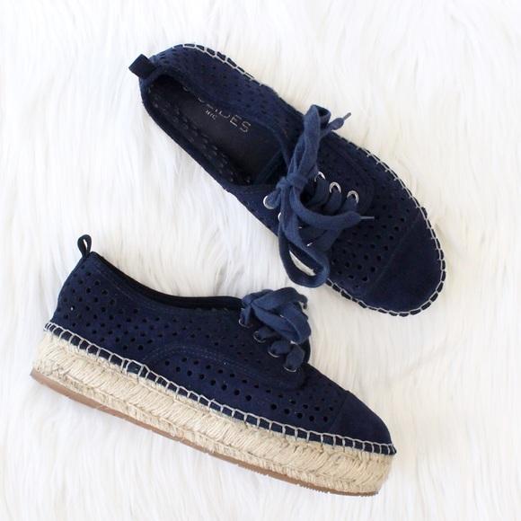 98bb5785c0352 JSlides 'Riley' Suede Espadrille Laced Sneaker 7