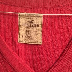 Hollister Sweaters - Hollister pink cable sweater size small
