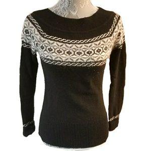 WHBM cashmere rabbit hair lambswool sweater