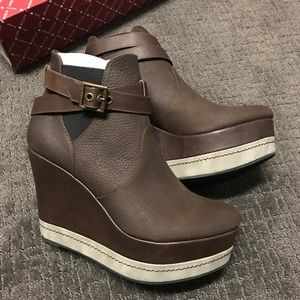 80%20 Kip ankle boot/bootie chocolate size 9