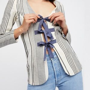 STONE COLD FOX 🦊 Hudson Moonlight Stripe Jacket