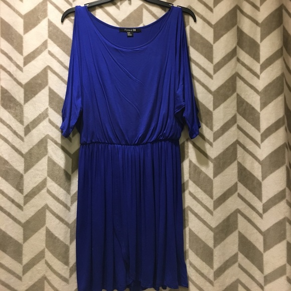 Forever 21 Dresses & Skirts - Blue Mini dress