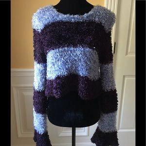 Stripe Shaggy Rug Sweater