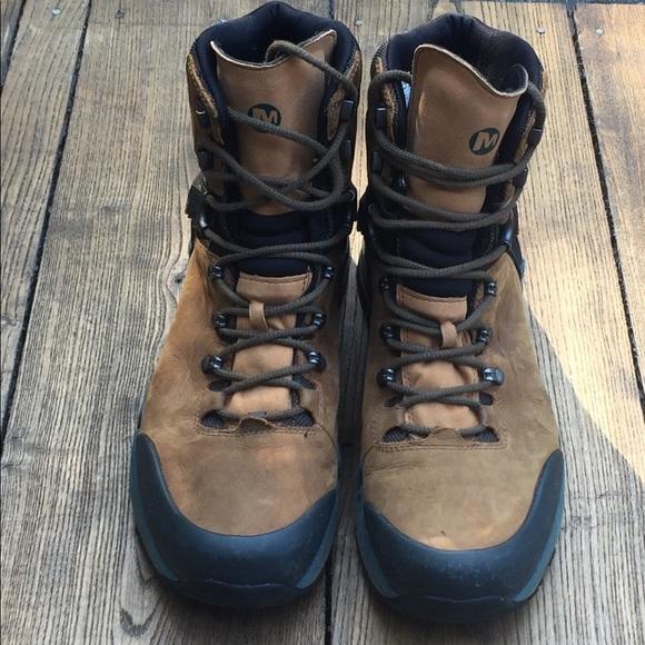 1263d567509 Merrell Crestbound Gore-Tex hiking boots.