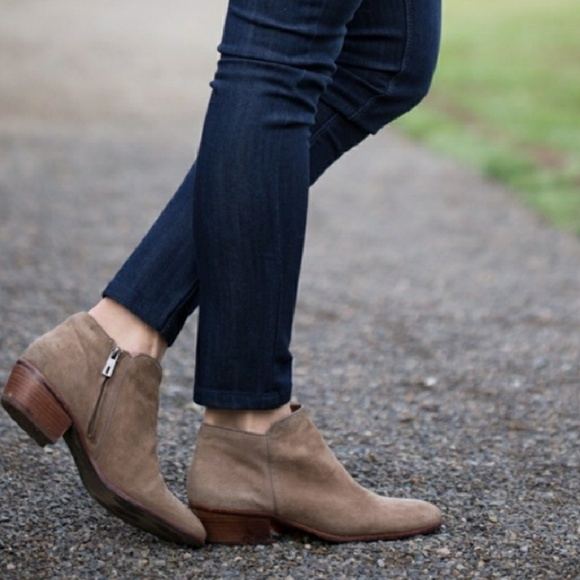 d079598b65ce7e Sam Edelman Petty Putty Chelsea Suede Boot boots. M 59d05621bcd4a748f207bcc3