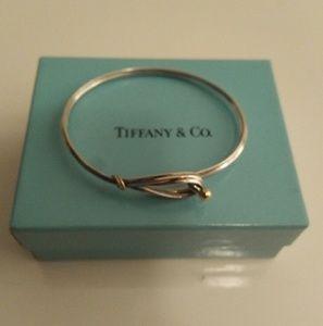 Tiffany & Co love knot  bracelet