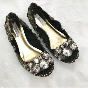 Simply Vera • Pep Toe Jewel Flats