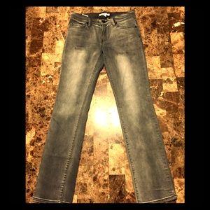 BCBGeneration Dark Gray Straight Leg 26W 30L