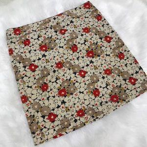 LOFT Skirts - LOFT • Floral Skirt