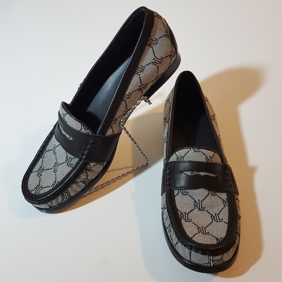 new concept 0f98e 749e4 RALPH LAUREN womens monogram penny loafers. M 59d05df978b31cd9f407dcc0