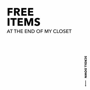 🆓  WITH PURCHASE ITEMS AT THE BOTTOM OF MY CLOSET