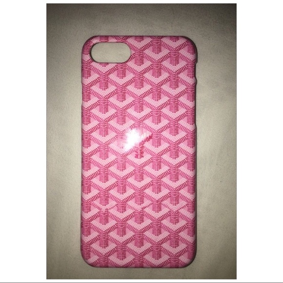 Goyard Iphone 7 Case Pink Never Used