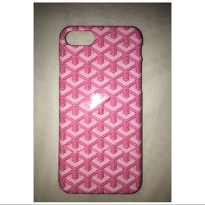 Goyard iPhone 7 Case Pink (NEVER USED)