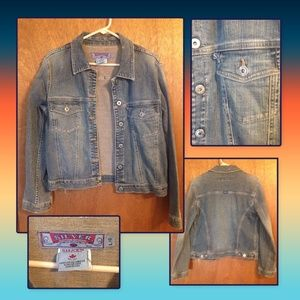 Denim jacket by Silver size womens large