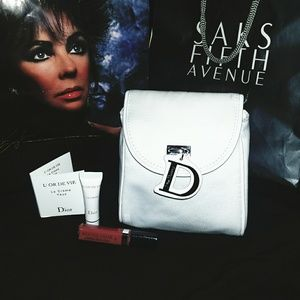 Authentic Dior Charm Cosmetic Makeup bag