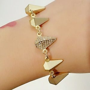JewelMint Golden Goose Bracelet