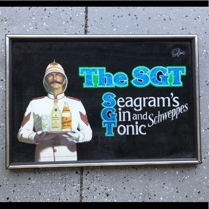 Other - Seagram's Gin Sign
