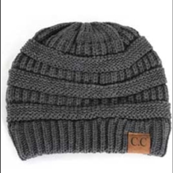 ✨C.C Beanie Cable Knit Beanie in Light Grey✨ 5562ffa40c58