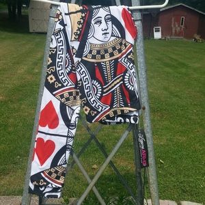 NWT Queen of Hearts ♥️ Sublimation Print Leggings