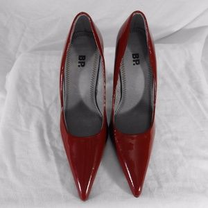 BP Cayenne Leather High Heels Size 4 1/2 Medium