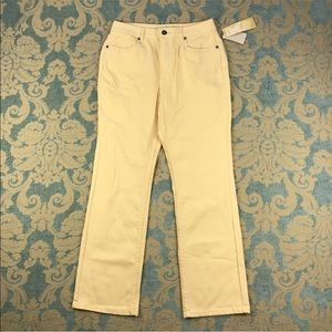 """Coldwater Creek Yellow Jeans 🌼 28"""" Inseam"""