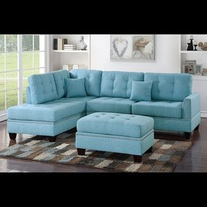 Other - 3PC Fashion Chaise Sectional Sofa w/ Ottoman SALE!
