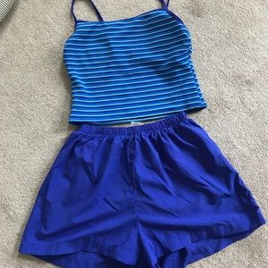White Sands TAnkini with bottoms, Size 12