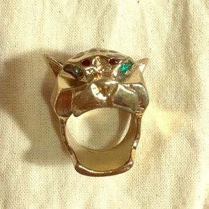H&M Leopard Ring