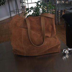 Handbags - Suede /Tote/