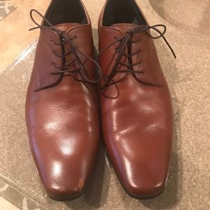 Aldo tan dress shoe