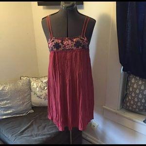 American Eagle Rose Nuede Dress