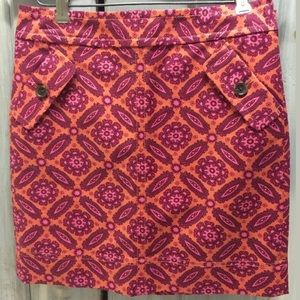 Ann Taylor Petite mini pencil skirt straight lined