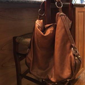 Handbags - Borsetta Milano genuine leather hobo bag