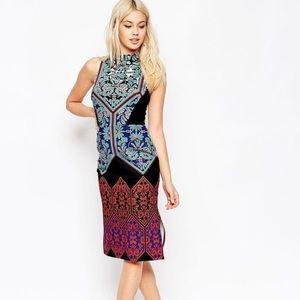 New Listing || ASOS High Neck Pencil Dress