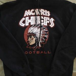 fb078410 Gildan Morris Chiefs Football Hoodie Sweatshirt M