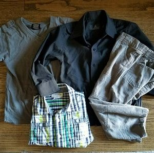 Other - Bundle💥 Boys Shirt and Cargo bundle