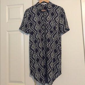 Vans Women's Button Down Shirt Dress size S