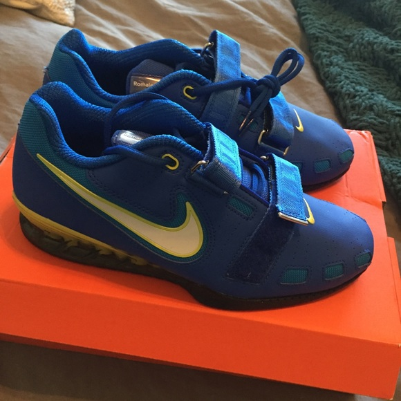 NEW Nike Romaleos 2 Weightlifting Shoes. M 59d108186a5830a967094ad9 5a85d35c2728