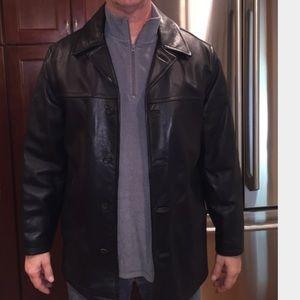 J. Crew Men's Leather Jacket