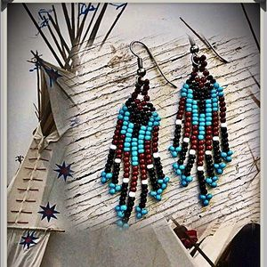 Native Beaded Earrings